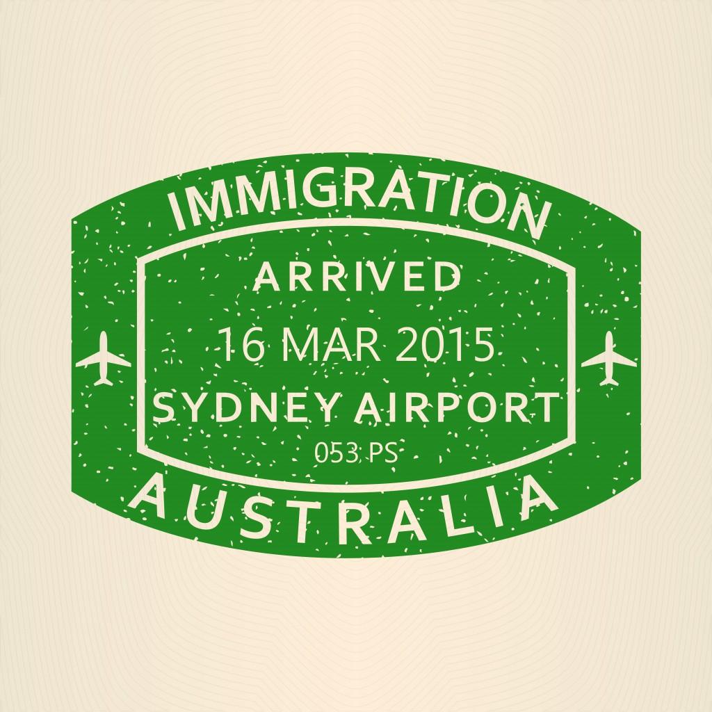 immigration concept